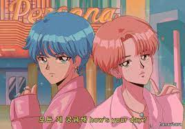 90s Anime Aesthetic Desktop Wallpaper ...
