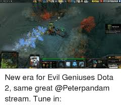 peterpandah twitch new era for evil geniuses dota 2 same great