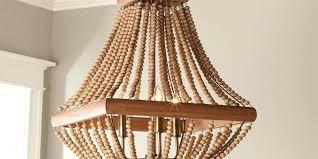 chandeliers wood bead chandelier pottery barn wood bead chandelier three tiered wood beaded chandelier wood