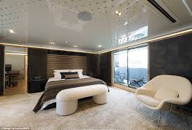 entire office decked. The Lavish Yacht, With Its Distinctive Wooden Decking, Has A Master Cabin Entire Office Decked I