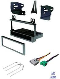 amazon com stereo install dash kit lincoln towncar 95 96 97 (car 1997 lincoln town car stereo wiring harness at 1997 Lincoln Town Car Stereo Wiring Harness