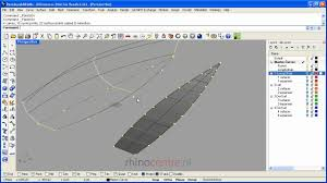 Rhino Boat Design Software Tutorial 1 Developable Hull Shapes In Rhino3d