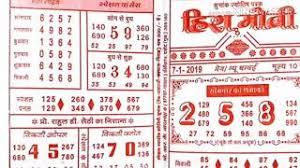 Hira Moti Satta Chart Kalyan Mumbai Chart 7 1 2019 Hira Moti Music Jinni