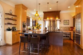 Colonial Kitchen Elegant Modern Colonial Kitchen With L Shaped Island Also Faux
