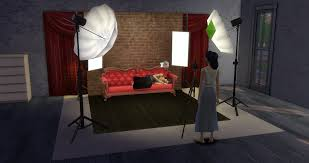 Studio Lights Sims 4 Ts4 Download Portable Professional Photography Studio