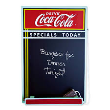 Chalkboard Menu Board Coca Cola Chalkboard Menu Board Sunbelt Gifts Wholesale
