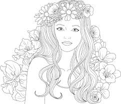 Coloring Pagesgirl Printable Frank Coloring Pages For Girls Coloring