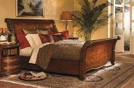 Aspen Home Napa Sleigh Bed Brown