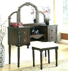 vanity set with mirror makeup sets mirrored furniture ikea and chair s