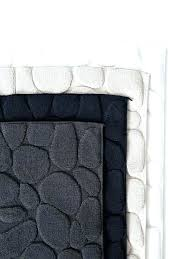 30x50 bath rug black bath rug bear bathroom sets and white runner 30 x 50 reversible