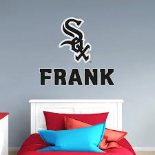 chicago white sox stacked personalized name giant mlb transfer decal fathead