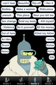 Bender Quotes Classy Bender Quotes Best Bender Quotesgabe48 Meme Center Motivational