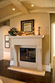 Amusing Country Mantel Decorating Ideas Pictures  Best Idea Home French Country Fireplace