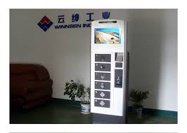 Cell Phone For Cash Vending Machine Locations Fascinating 48 Inch Touch Screen LCD Cell Phone Charging Station Vending Machine