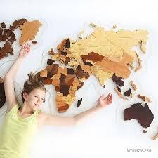 <b>Деревянная карта мира</b> купить в Москве/ карта мира из дерева ...
