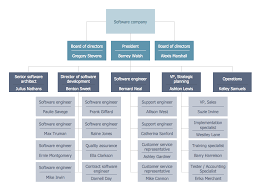 Department Of The Navy Org Chart Example 5 Software Company Org Chart This Diagram Was
