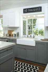 kitchen countertops quartz with dark cabinets. White Cabinets Dark Grey Countertops Kitchen With Black  Appliances And Quartz