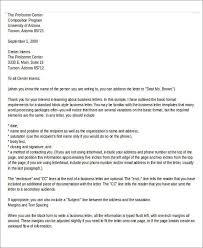 Sample Business Letter With Enclosure Sample Professional Letter