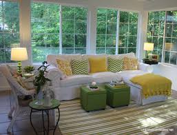 yellow sunroom decorating ideas. Full Size Of Decoration Elegant And Comfortable Furniture For Casual Sunroom Without Making It Less Expensive Yellow Decorating Ideas R
