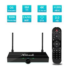 Tv Box Android 9.0 X88 4g Lte 4k,Set Top Box Rk3328 Quad-core 2g 16g Dengan  Kartu Sim 4g - Buy X88 4g Lte Set Top Box,Dukungan Multi Negara Tv Box  X88,4k Android