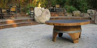 wine barrel outdoor furniture. The Subtle Requirements Of Choosing A Wine Barrel Table That Looks Great In Your Home Outdoor Furniture