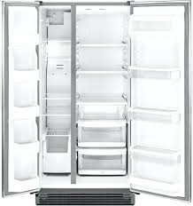 kitchenaid side by side counter depth luxury refrigerators counter depth kitchenaid architect side by side counter depth