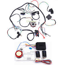 250cc cdi parts accessories electrics atv stator 150 200 250cc coil cdi wiring harness remote start switch