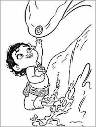 Quickly Moana Coloring Pages Pdf Of At Getcolorings Com Free Printable
