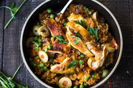 instant pot arroz con pollo feasting