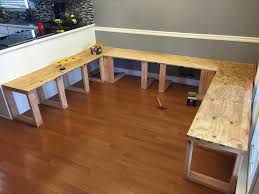 he used 1 2 plywood for the seats this diy dining booth is