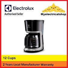 myelectrical electrolux coffee maker ecm3505