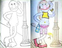 childrens coloring books gone wrong also guest post sesame corner childrens coloring books gone wrong 542