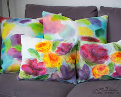 Hand Painted Decorative Pillows
