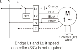 gamma downflow series ce506d fans fantech wiring diagram