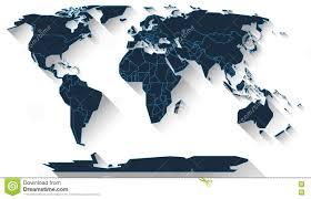 World Map Flat Design World Map Flat Design Stock Illustration Illustration Of