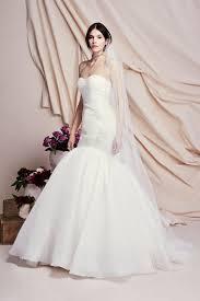 Long Mermaid Trumpet Vin E Wedding Dress Truly Zac Posen