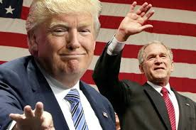 like a double dose of dubya donald trump s presidency will be like a double dose of dubya donald trump s presidency will be like the george w bush disaster only worse com