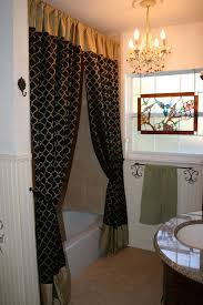 black and gray shower curtain. fabulous black bathroom curtains for windows 30 best shower curtain images on pinterest ideas and gray r