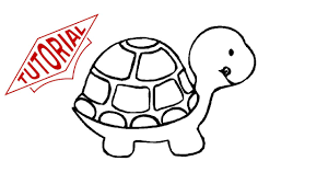 Small Picture How to draw a turtle Easy step by step drawing lessons for kids