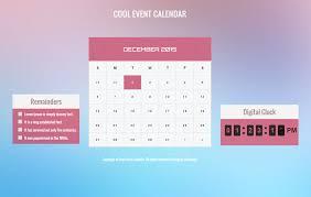 event calendar cool event calendar responsive widget template w3layouts com