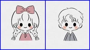 vẽ hình Chibi cute đơn giản - vẽ hình dễ thương - happy origami #64 | Kinh  nghiệm có ích liên quan đến chủ đề hình ảnh - Thiết kế logo, thiết