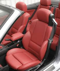bmw e46 cab m sport c red leather 003