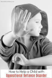 how to help a child with odd child oppositional defiance disorder manage a child