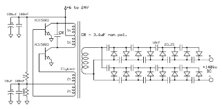 where can i circuit for electronic rat trap page 1 the one in the schematic above uses a royer converter to drive the flyback transformer to generate a sinewave the voltage multiplier circuit charges the