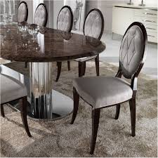 spectacular large italian marble oval dining table set interiors marble dining table round