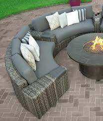 curved sofa sectional smoke inc furniture s ebel patio reviews