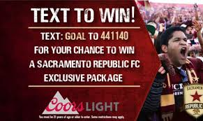 come out to round table pizza to see how to win a sacramento republic prize pack