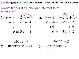 rewrite equation in slope intercept form worksheet worksheets for all and share worksheets free on bonlacfoods com