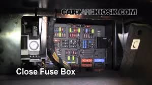 interior fuse box location 2006 2013 bmw 328i 2008 bmw 328i 3 0 5 test component secure the cover and test component