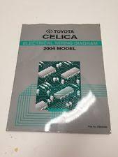 celica corners 2004 toyota celica oem factory electrical wiring diagram book